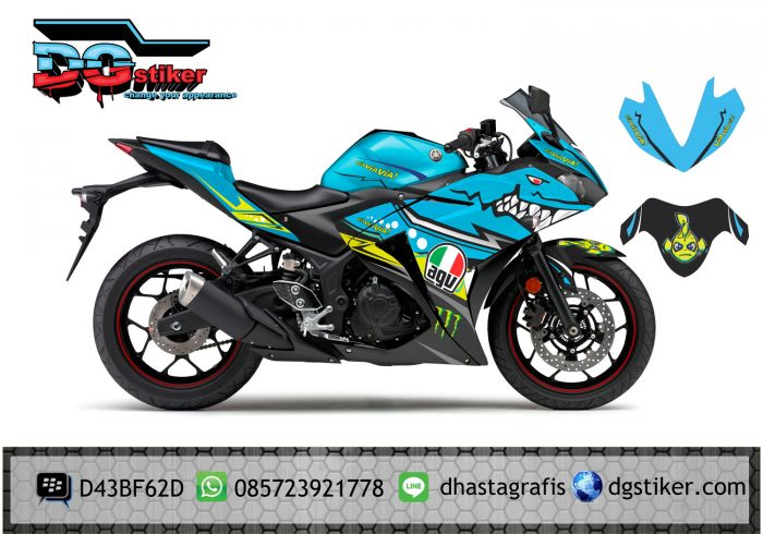 Decal-Yamaha-R25-AGV-pista-Shark-image