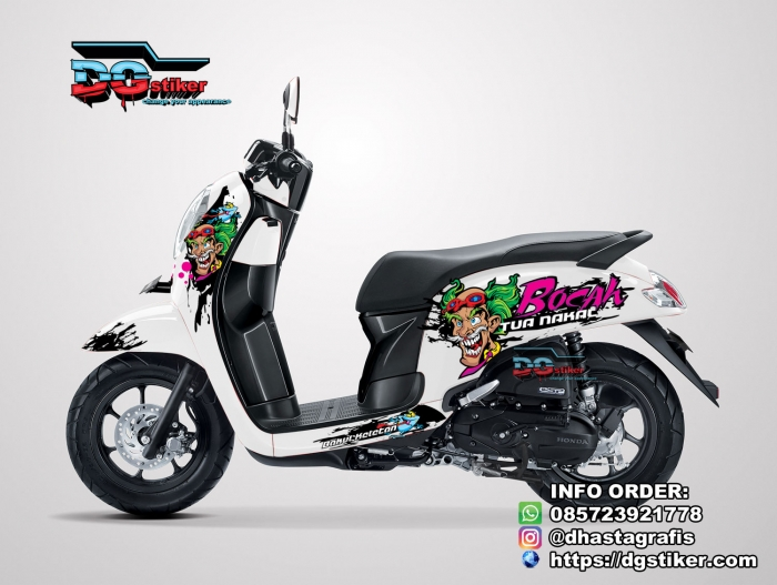 Cutting-Sticker-3D-Scoopy-2017-Bocah-Tua