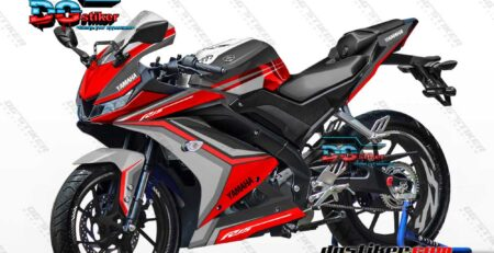 Decal Sticker R15 V3 Merah Line DG Stiker