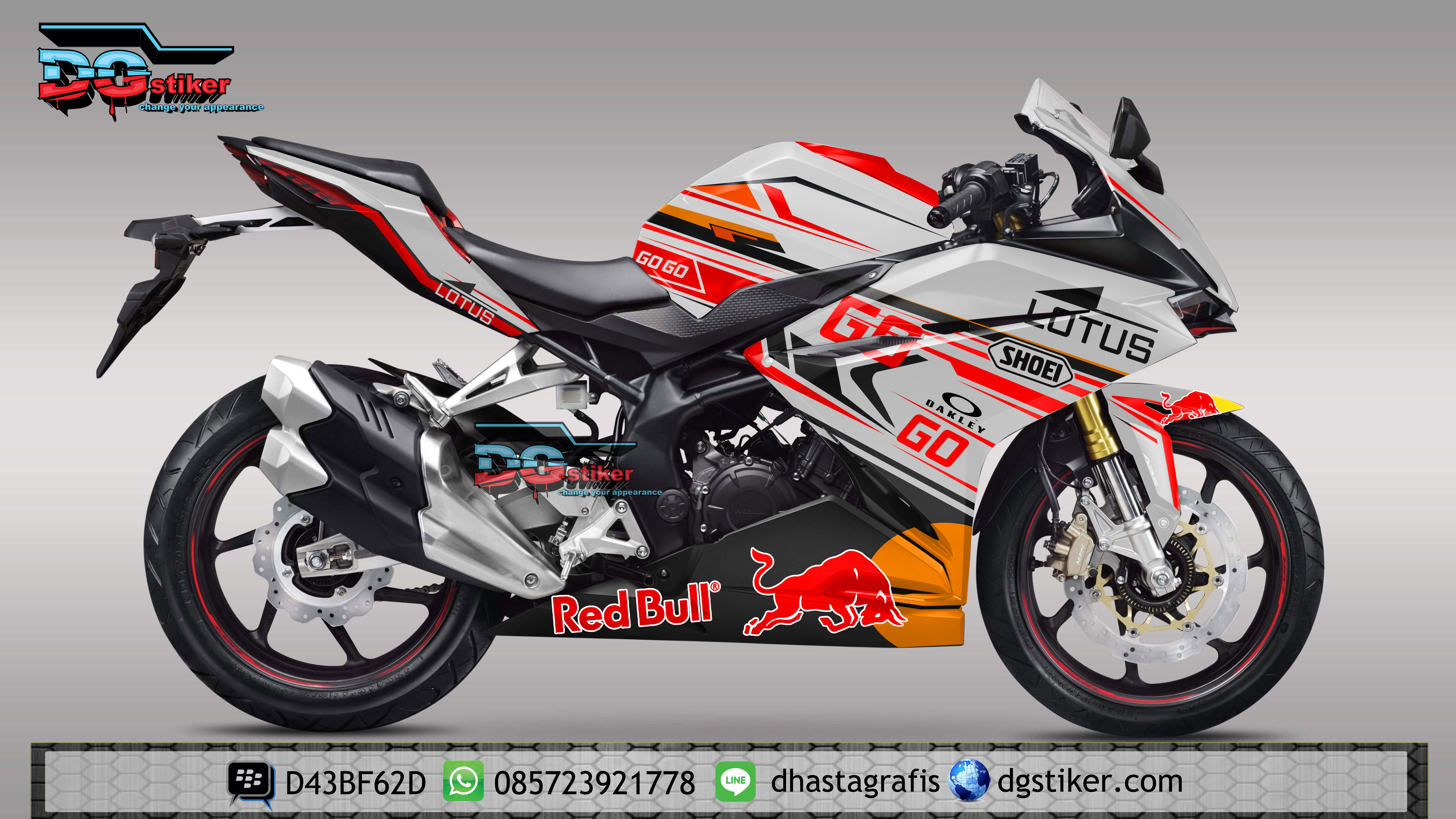 Decal-Stiker-Honda-CBR-250-RR-Lotus-GO
