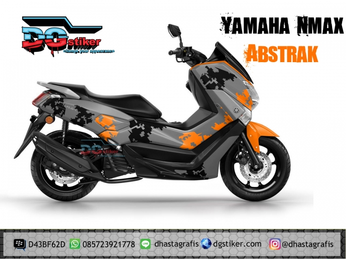 Decal Yamaha Nmax Abu