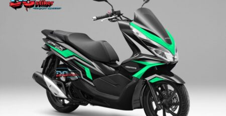 Decal-Sticker-Honda-Pcx-New-2018-Lokal-Warna-Hitam-biru-tosca-tajam