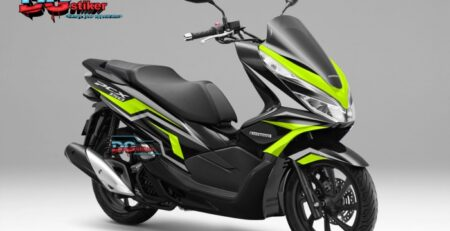 Decal-Sticker-Honda-Pcx-New-2018-Lokal-Warna-Hitam-kuning-tajam