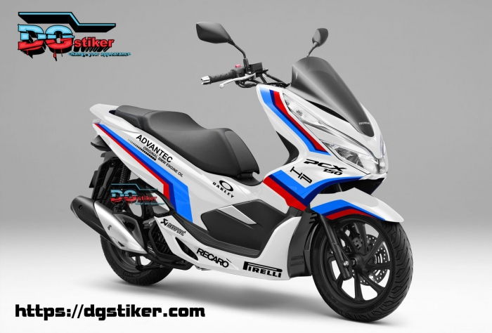 Honda Pcx Decals Kamos Sticker