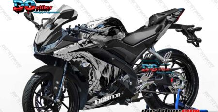 Decal Striping R15 V3 Wolf Serigala DG Stiker