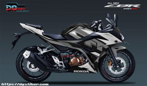 Modifikasi-Decal-Sticker-full-Body-Honda-CBR150R-TT-Isle-Of-Man-Hitam-Silver