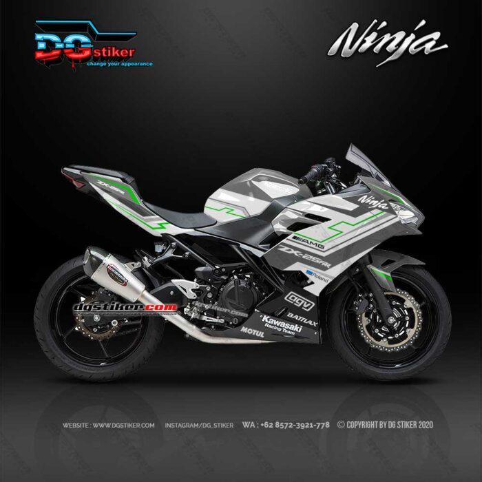 Modif-Grafis-New-Ninja-250-Fi-2018-Abu-SIlver-Hitech-DG-Stiker