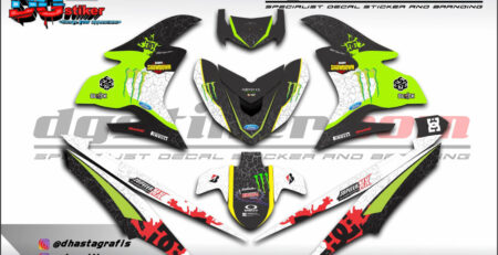 Decal Striping Jupiter Mx King Kenblock DG Stiker