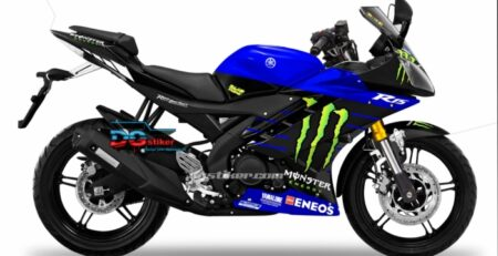 Decal Sticker Kit Full Body R15 Old Livery Yamaha MotoGP 2019 DG Stiker