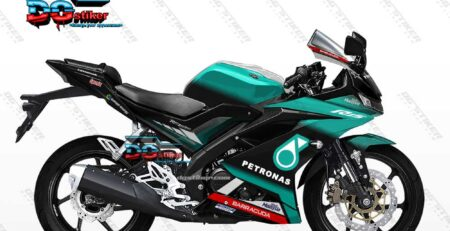 Decal Striping Full Body R15 V3 Petronas DG Stiker