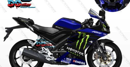 Decal Striping R15 V3 Monster Energy Motogp DG Stiker