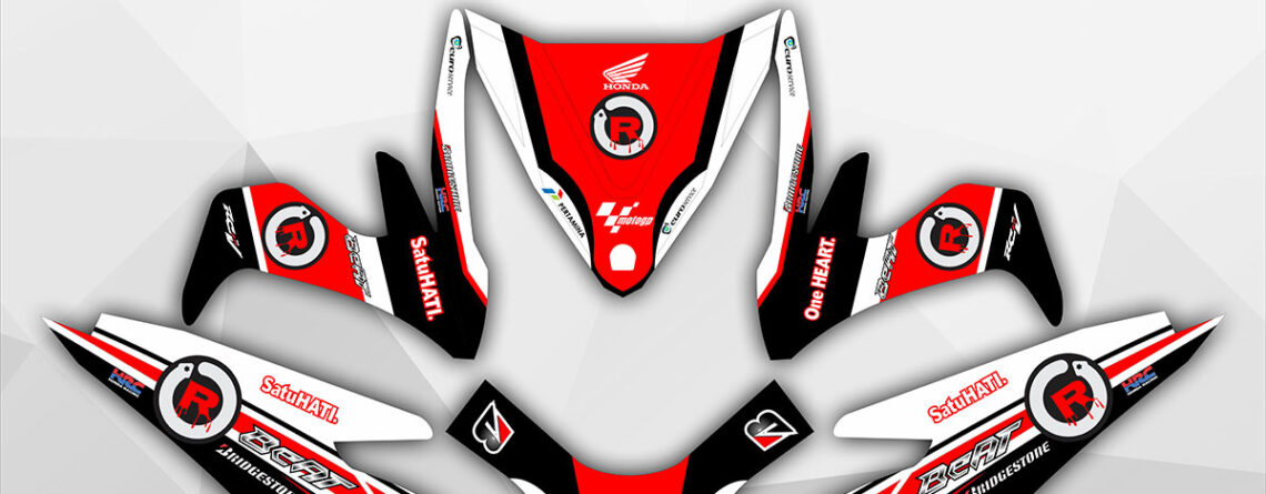 001-Decal Striping Beat FI New Lorenzo DG Stiker
