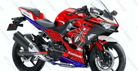 Decal Sticker Ninja 250R FI 2018 Red Spirit Marquez DG Stiker