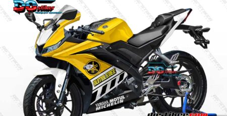 Decal Striping Full Body R15 V3 Kuning Bumblebee DG Stiker