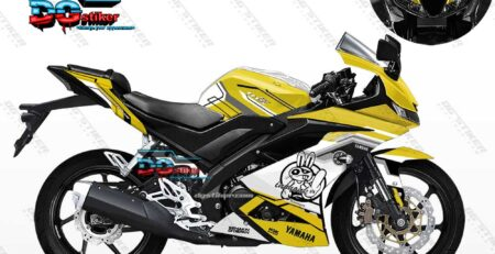 Decal Striping Full Body R15 V3 Kuning Inohonk DG Stiker