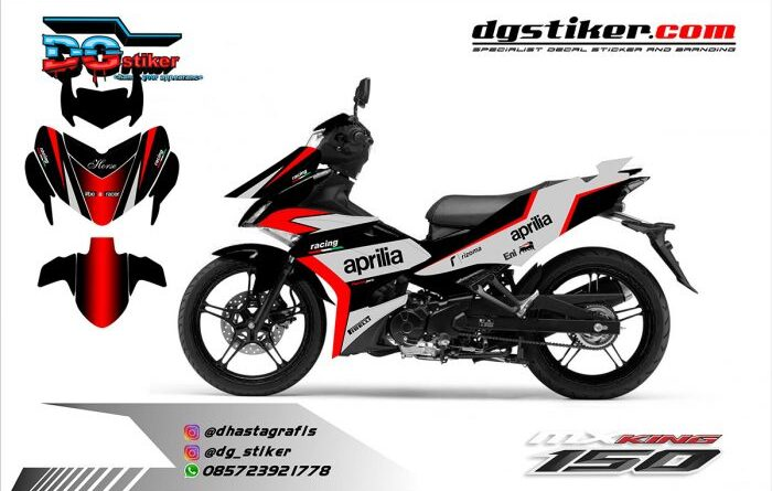 Decal Mx King Livery Aprillia DG Stiker