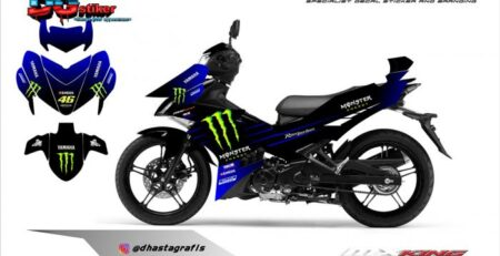 Decal Mx King Livery Yamaha MotoGP 2019 DG Stiker