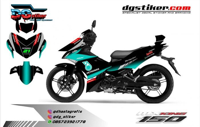 Decal Mx King Livery Yamaha SRT Petronas 2019 DG Stiker