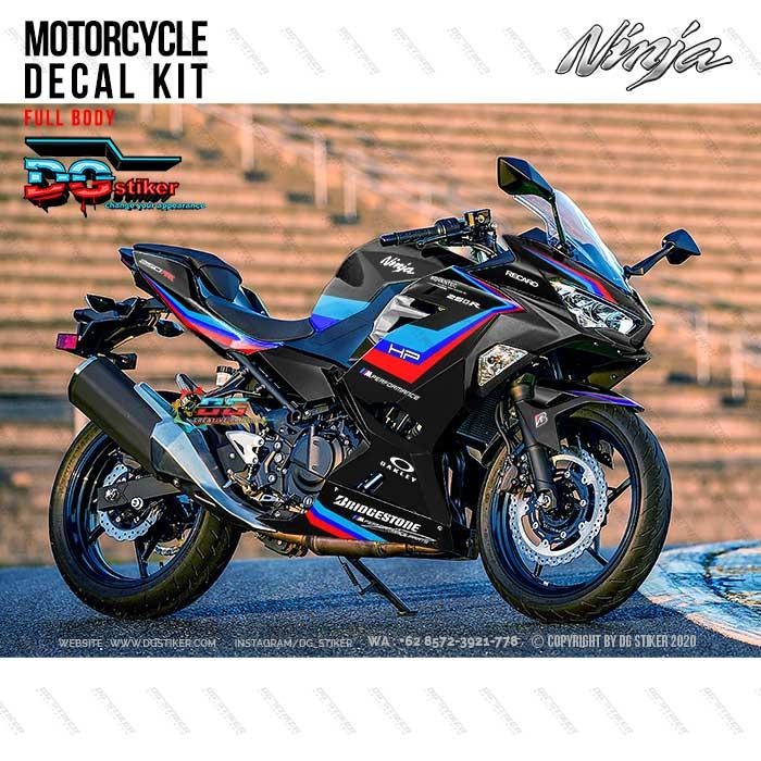 Decal Sticker All New Ninja 250R FI Hitam BMW DG Stiker