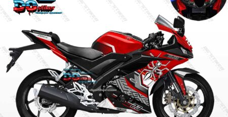 Decal Striping R15 V3 Merah Semut Marc Marquez DG Stiker
