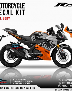 Decal Sticker R15 V2 KTM Tech3 V4 DG Stiker