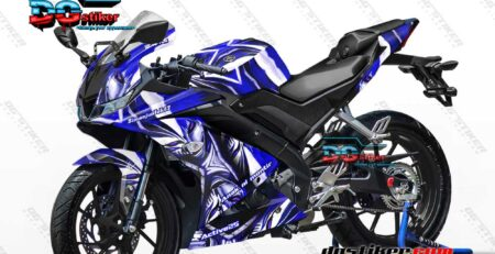 Decal Striping R15 V3 Biru Ichigo Bleach DG Stiker