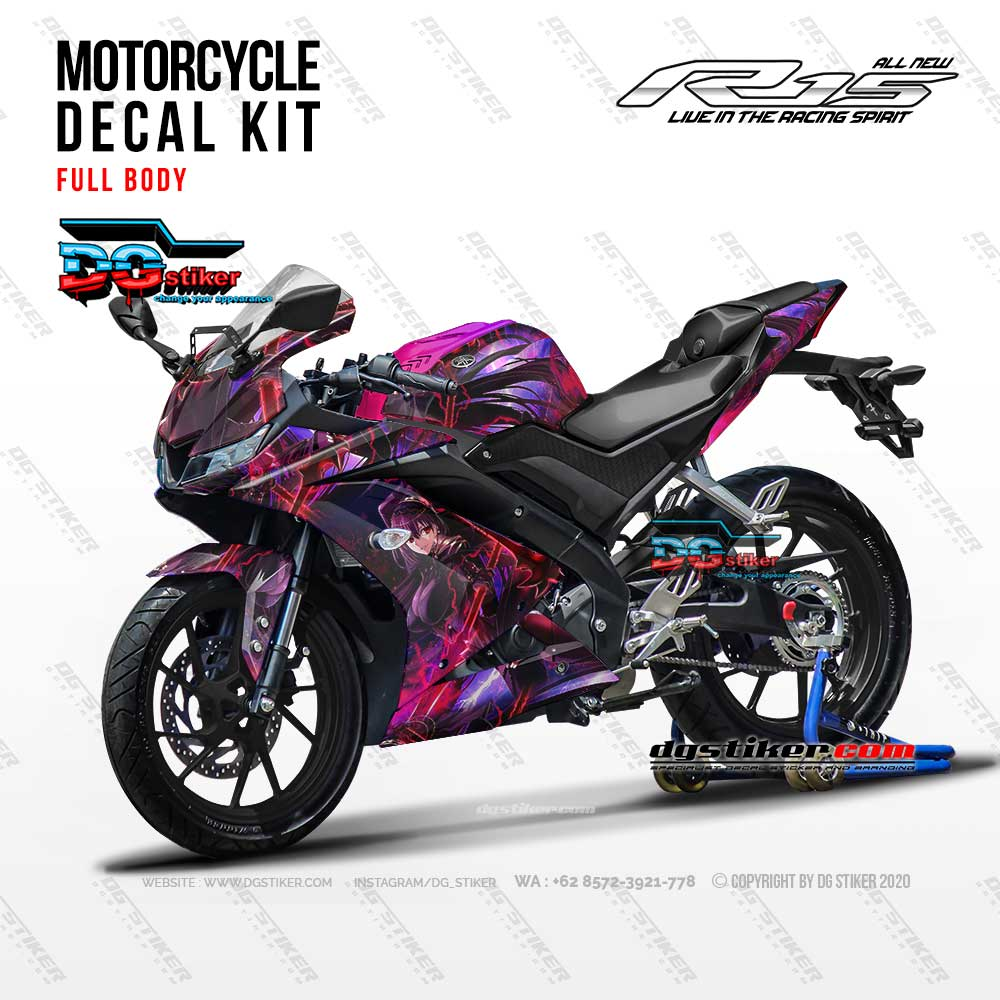 Decal Striping R15 V3 Anime DG Stiker