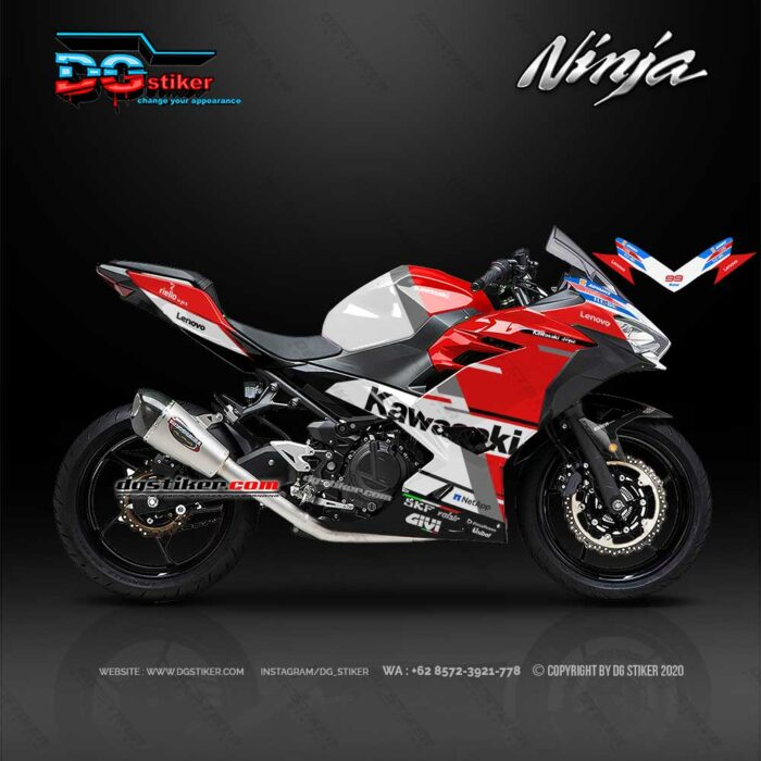 Decal Sticker New Ninja 250 FI Desmosedici DG Stiker