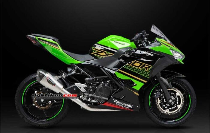 Decal Sticker New Ninja 250 FI KRT 2020 DG Stiker