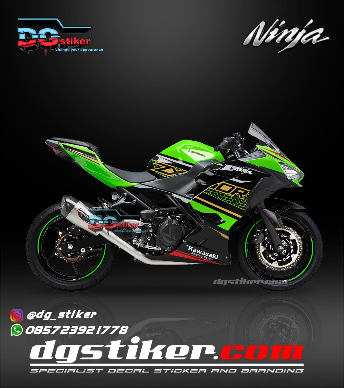 Decal Sticker New Ninja 250 FI KRT 2020 DG Stiker