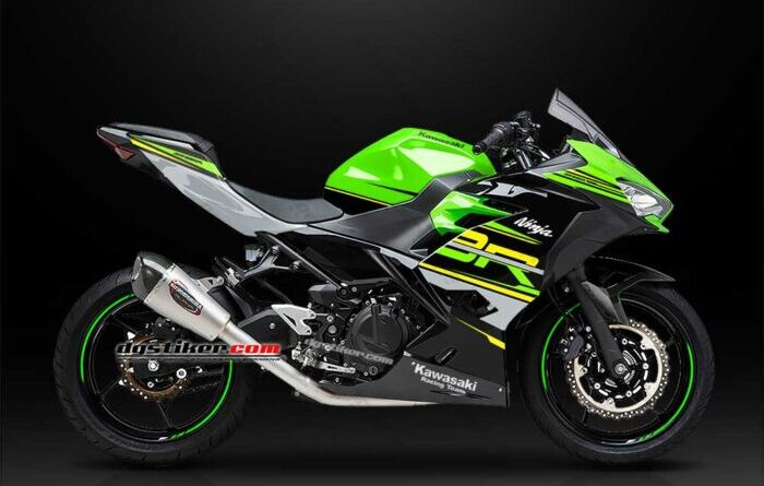 Decal Sticker New Ninja 250 FI KRT DG Stiker