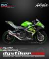 Decal Sticker New Ninja 250 FI KRT DG Stiker