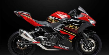 Decal Sticker New Ninja 250 FI KRT Merah 2020 DG Stiker