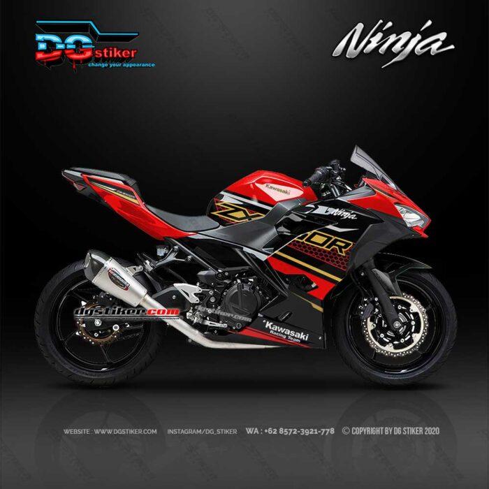 Decal Sticker New Ninja 250 FI KRT Merah 2020 DG Stiker