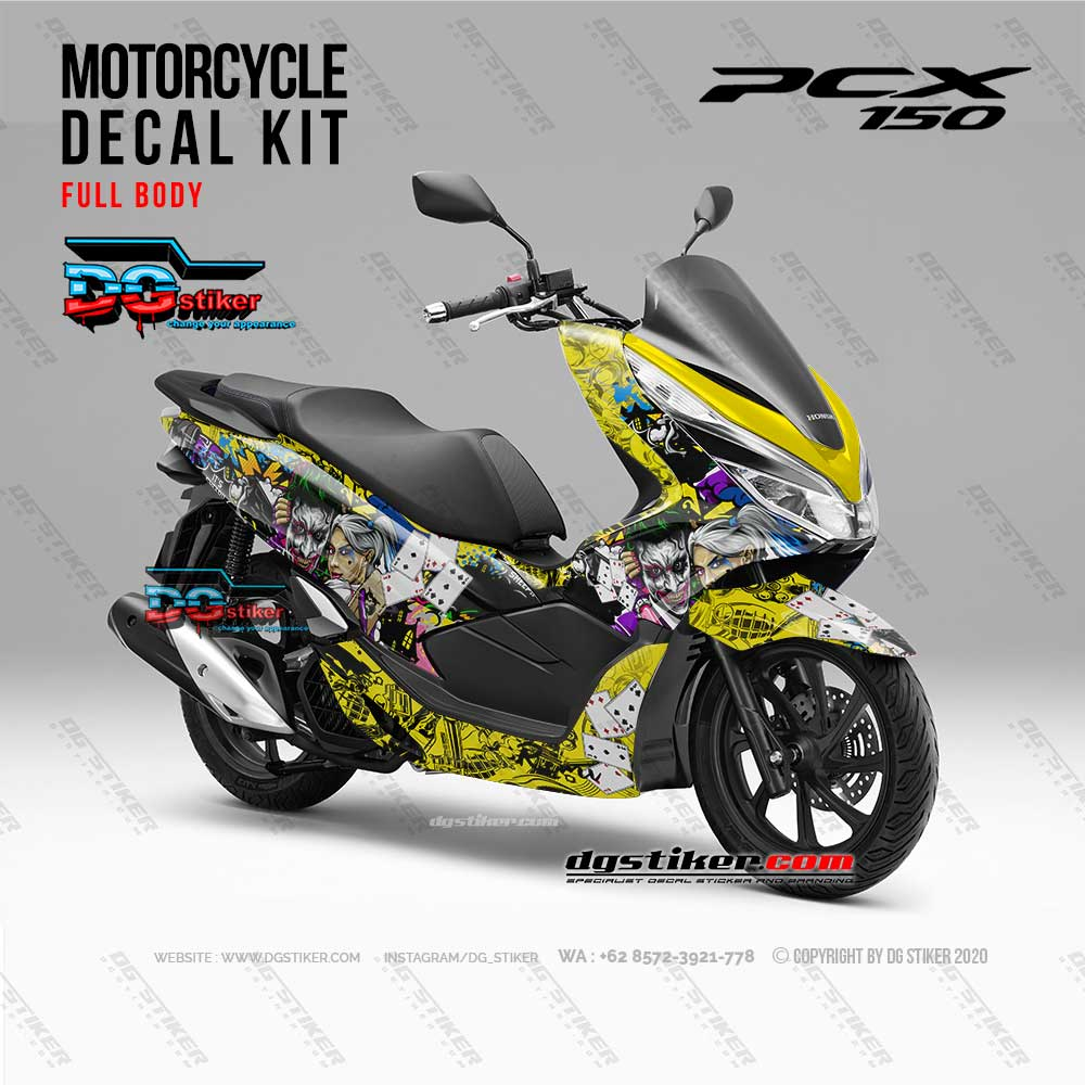 Striping Decal Sticker Pcx Joker DG Stiker